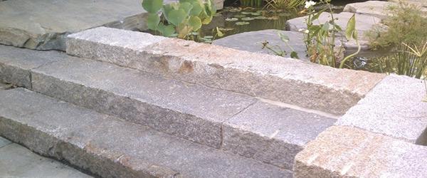 Granite Block Curb : Reclaimed granite stone wholesale
