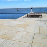 stone pavers granite pool patio