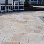 travertine pavers patio pool ny brooklyn