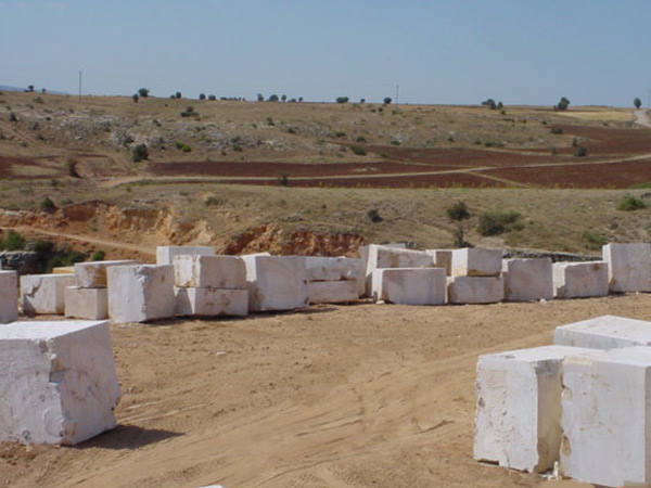travertine stone blocks