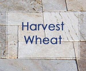 harvest wheat travertine stone pavers