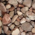 coral beach pebbles