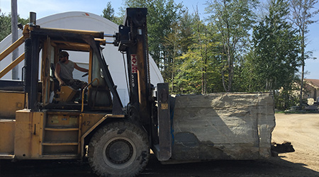 bluestone pavers truckload