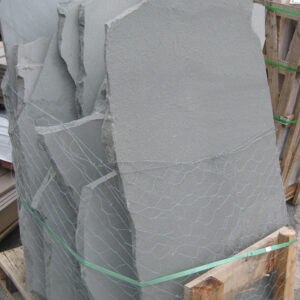irregular bluestone flagging pallet