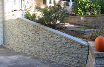stone veneer panels walls cape cod