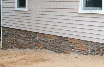 manufactured thin stone veneer panels installation