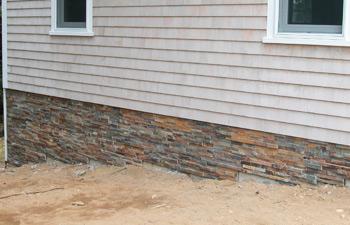 manufactured thin stone veneer panels installation