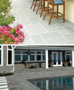 Bluestone Paver Project, Pool and Patio