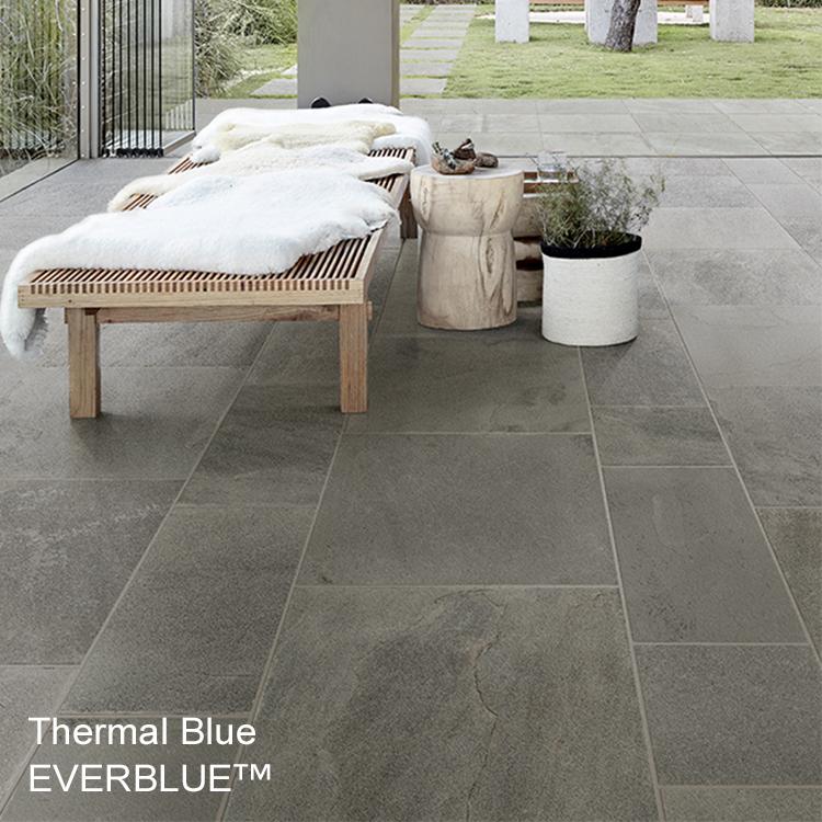 Outdoor Porcelain Tile Pavers Everblue Bluestone