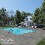 Outdoor Porcelain Tile Bluestone Porcelain Paver Pool Deck