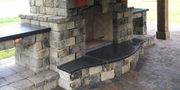 Bluestone Hearth & Outdoor Kitchen Countertop